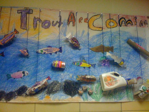 Trout in the Classroom Art