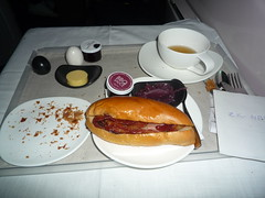 Air New Zealand Bacon Sandwich