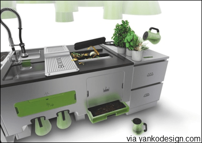 EKOKOOK: the zero-waste kitchen island