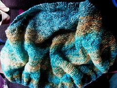 Handpainted Sheep Shawl Body Complete
