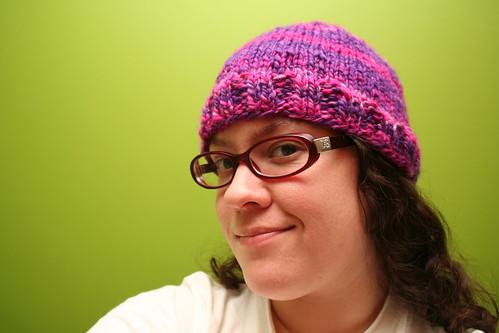 53/365: One Day Handspun Hat