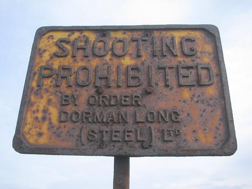 Dorman Long Sign, South Gare