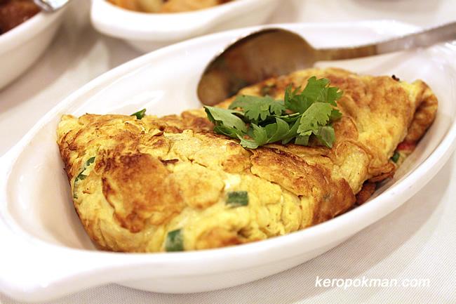 Cincalok Omelette