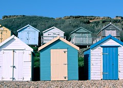 Beach huts - Canon eos 550d (Photo credit: @Doug88888)