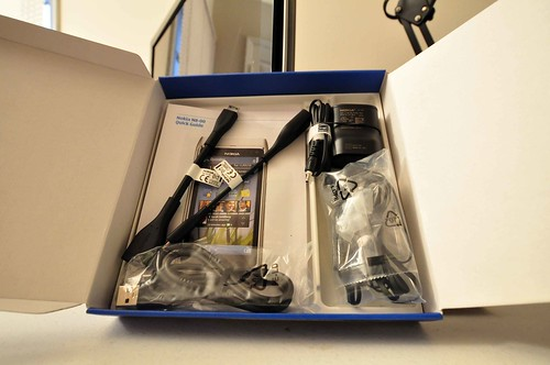 Included Accessories for Nokia N8