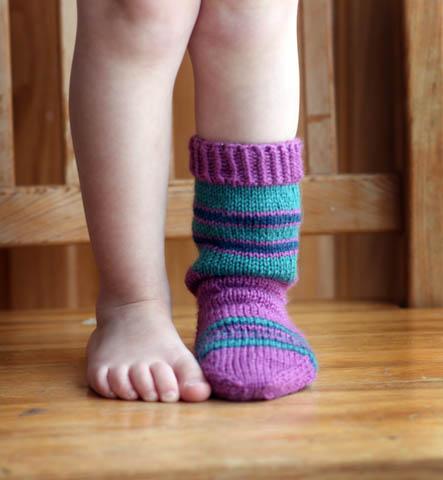 Pink/Purple Socks