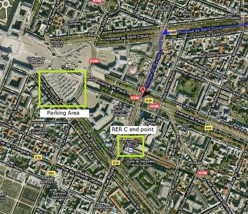 Versailles Parking - Train Station