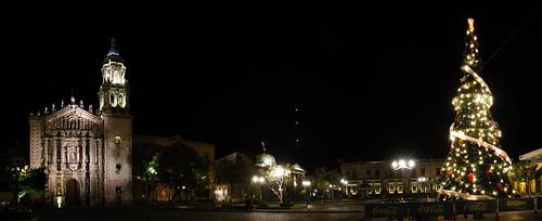 Plaza del Carmen,San Luis Potosi, Navidad 2009