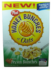 Post Honey Bunches of Oats with Pecan Bunches