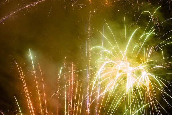 MVSTA fireworks for the Olympics