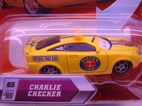 Disney CARS Lenticular  Charlie Checker (2)