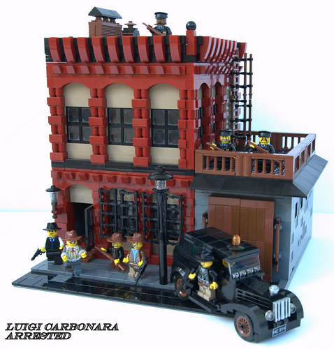 LEGO Kris Kelvin prohibition building