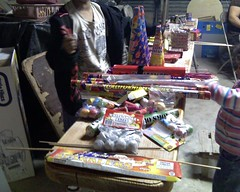 An arsenal of fireworks!