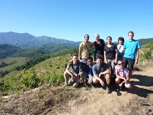 The trekking group