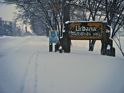 Urbana welcomes you