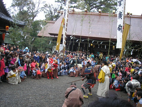 Tengu and Oni