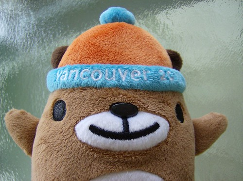2010 VANCOUVER WINTER OLYMPICS | THE LOOK OF THE GAMES :: MASCOTS ::: LITTLE MUKMUK'S FACE