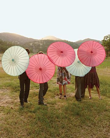eunice hello lucky wedding martha stewart parasol