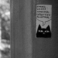 Koning Keizer generaal: Oprotten Allemaal!!!