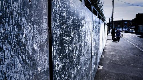 Elections : Panneaux électoraux vides (Photo de Gilderic)