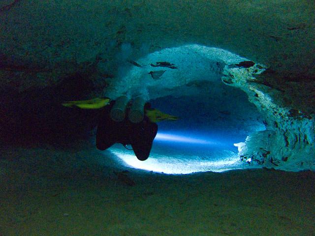 Gran Cenote - Cave