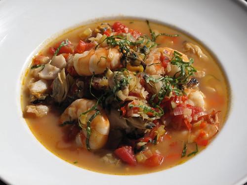 Mardi Gras Seafood Soup