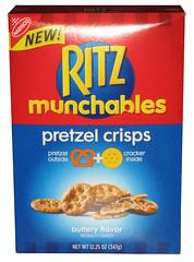 Ritz Munchables Pretzel Crisps Buttery Flavor