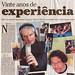 CEP 20.000 no O Globo, p.1