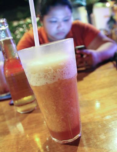 Frozen Iced Tea at Kinabuchs