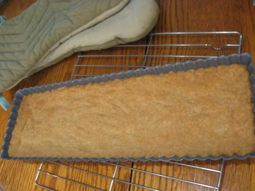 berry tart shortbread crust