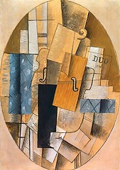 "Georges Braque ""Still Life with Violin"""