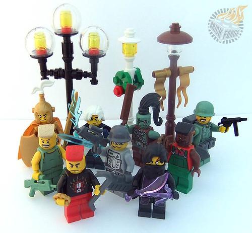 New Brickforge items