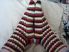 Vortical Blackhawks Socks