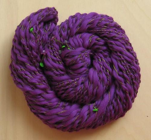 lila Blumenwiese