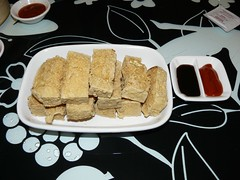 Honey Comb Tofu ( (Dim Sum by Chef Lau))