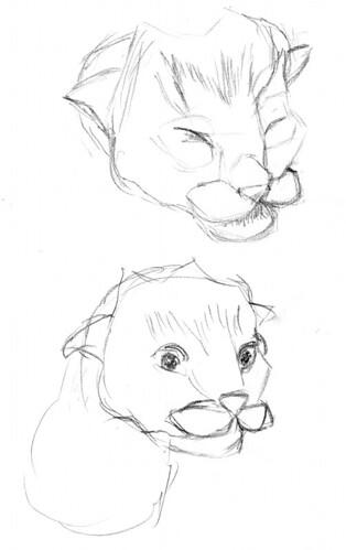 Marble Babies design 2010/04/15 sketch 1