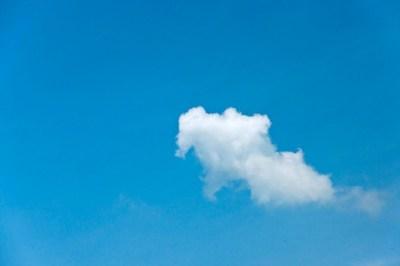 A literal cloud