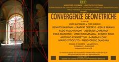Caserta: Convergenze Geometriche, nuova mostra alla Reggia - L'invito della mostra