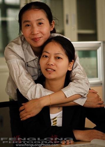 Angela - Xiao Zou & Helen - Xiao Feng