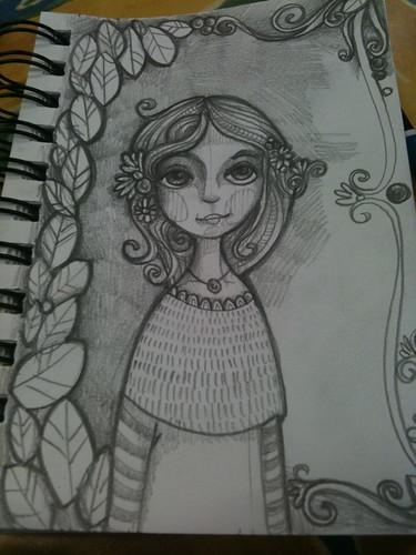 Doodling in my lunch  break