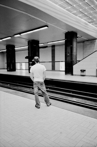Waiting for the Metro