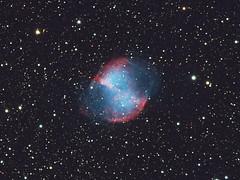 M27, The Dumbbell Nebula