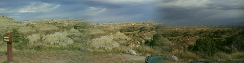 ND Teddy Roosevelt Nat'l Park scenery panorama