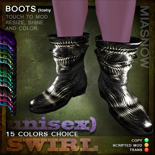 MIASNOW Shoes - BOOTS (unisex)
