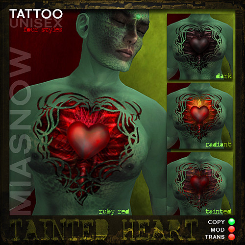 TAINTED HEART Tattoos