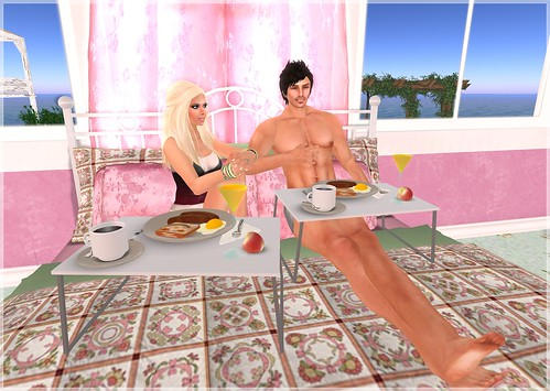 Review - Belle Belle - Valentine Bed, breakfast