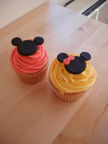 Cirencester Cupcakes - Mickey Mouse Cupcakes