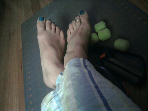 Blue Sky Toes