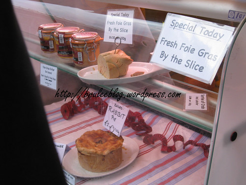 foie gras and meat pies
