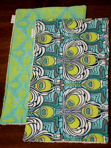 Custom New Mama Set - Burp Rags